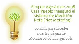 Monitoreo de energia solar
